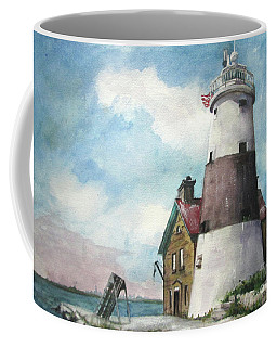 Execution Rocks Lighthouse Coffee Mug