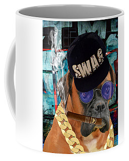 Coffee Mug featuring the mixed media Executive by Marvin Blaine