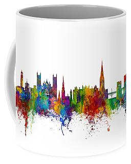 Exeter England Skyline Coffee Mug