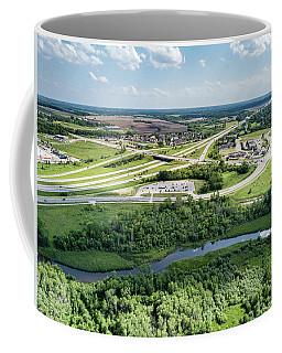 Exit 43 Coffee Mug by Randy Scherkenbach