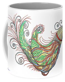 Exotic Bird I Coffee Mug