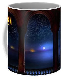 Coffee Mug featuring the photograph Exotic Night by Mark Andrew Thomas
