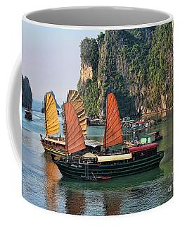 Exotic Sailing Vietnam  Coffee Mug by Chuck Kuhn