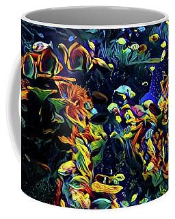 Exotic Tropical Marine Fish Coffee Mug