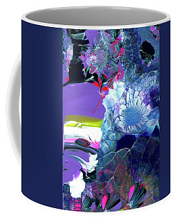 Exotic White Rose Island Coffee Mug