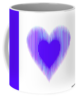 Expanding - Shrinking Heart Coffee Mug