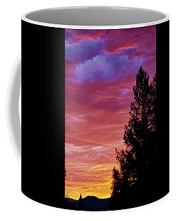 Exploding Color Coffee Mug by Loni Collins