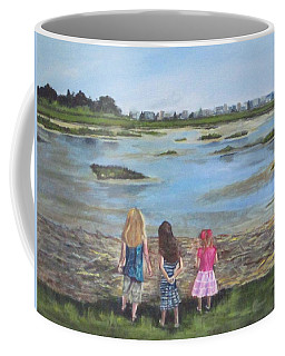 Exploring The Marshes Coffee Mug