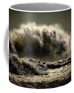 Explosion In The Ocean Coffee Mug