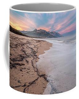 Explosion Of Colors On The Beach Coffee Mug