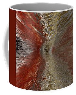 Coffee Mug featuring the painting Explosion Painting  by Sheila Mcdonald
