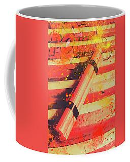 Explosive Comic Art Coffee Mug