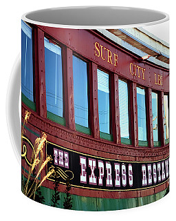 Coffee Mug featuring the photograph Express Restaurant by John Rizzuto