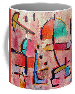 Coffee Mug featuring the painting Expression # 12 by Jason Williamson