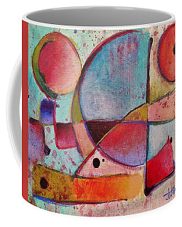 Coffee Mug featuring the painting Expression # 13 by Jason Williamson