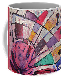 Coffee Mug featuring the painting Expression # 14 by Jason Williamson