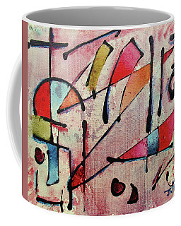 Coffee Mug featuring the painting Expression # 15 by Jason Williamson