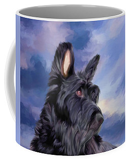 Expression Is Everything Scottish Terrier Dog Coffee Mug