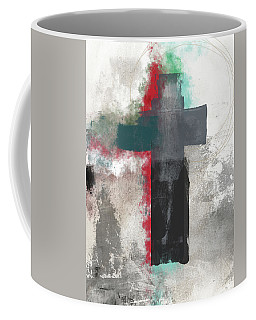 Expressionist Cross 4- Art By Linda Woods Coffee Mug