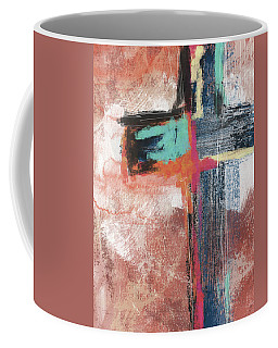Expressionist Cross 5- Art By Linda Woods Coffee Mug