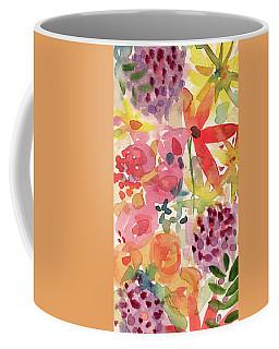 Expressionist Fall Garden- Art By Linda Woods Coffee Mug