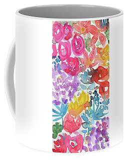 Expressionist Watercolor Garden- Art By Linda Woods Coffee Mug