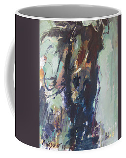 Expressive Coffee Mug by Robert Joyner