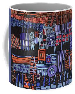 Exterior Facade Coffee Mug by Sandra Church