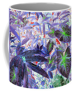 Extravagant Blue Coffee Mug by Rosalie Scanlon