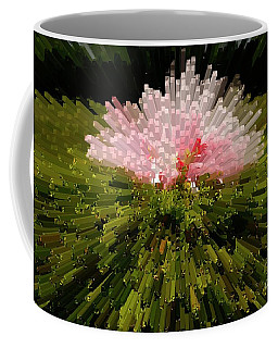 Extrusion Abstract #3 Coffee Mug by Marcia Lee Jones