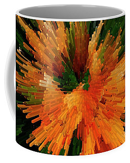 Extrusion Abstract Series Coffee Mug by Marcia Lee Jones
