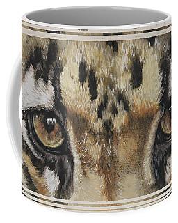 Clouded Leopard Gaze Coffee Mug