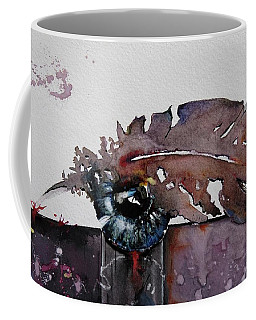 Eye Feather Coffee Mug by Geni Gorani