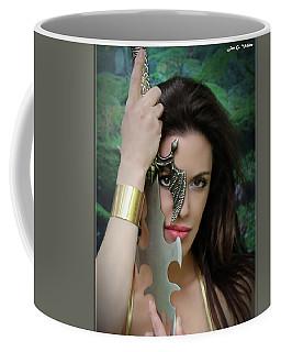 Eye Of A Warrior Coffee Mug