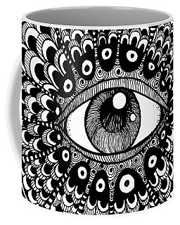Eye Of March Coffee Mug by Nada Meeks