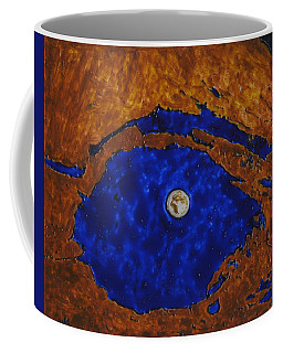 Eye Of The Moon Coffee Mug