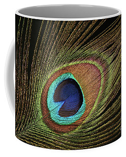 Eye Of The Peacock #11 Coffee Mug