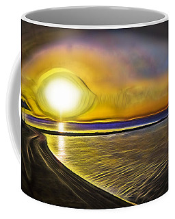 Coffee Mug featuring the photograph Eye Of The Sun by Scott Carruthers