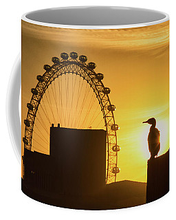 Eye On The London Eye  Coffee Mug