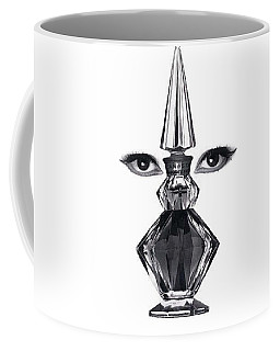 Coffee Mug featuring the digital art Eye See You by ReInVintaged