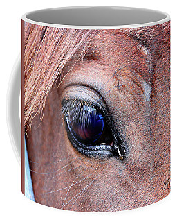 Coffee Mug featuring the photograph Eye See You by Mariarosa Rockefeller