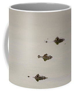 Coffee Mug featuring the photograph Eye Spy by Alex Lapidus