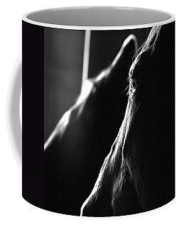 Coffee Mug featuring the photograph Eye Squared by Angela Rath