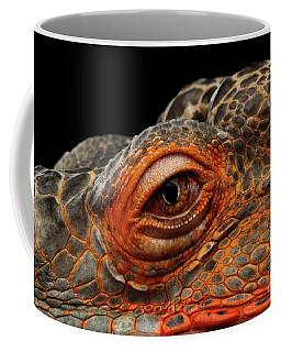 Eyeball Of Dragon Head Coffee Mug by Sergey Taran