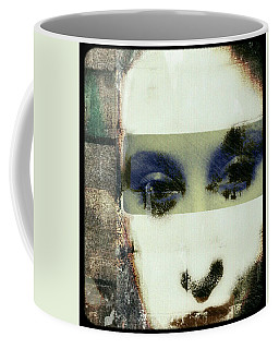 Coffee Mug featuring the digital art Eyes Have It by Delight Worthyn