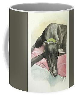 Eyes Of His Soul Coffee Mug by Rachel Hames