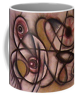 Eyes Watching Coffee Mug