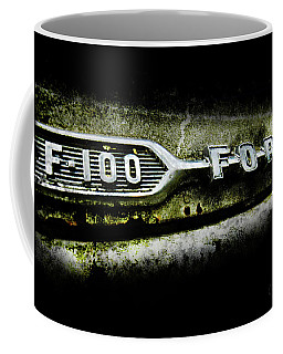 Coffee Mug featuring the photograph F-100 Ford by Glenda Wright