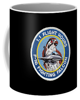 F-16 Ride Patch Coffee Mug