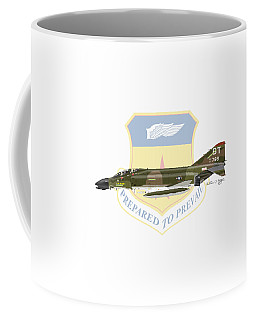 F-4d Phantom Bitburg Coffee Mug by Arthur Eggers